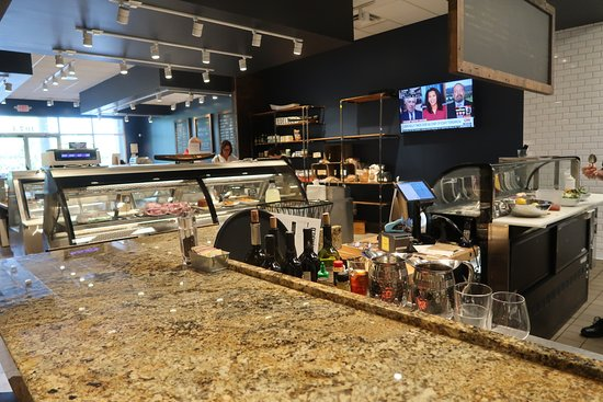 Potomac, MD: Looking from the bar into the market area