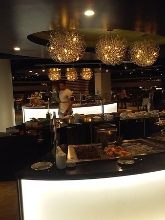 Luxe Buffet Restaurant on the upper level of the Dania Beach Casino
