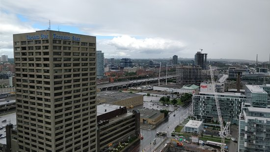 View from our room note carpark picture of the for 1 harbour square 38th floor toronto on m5j 1a6