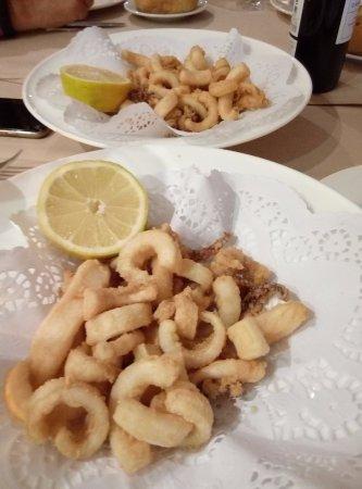 El Astillero, إسبانيا: Rabas de calamar