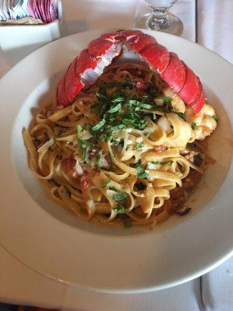 Sunnyvale, CA: Seafood Pasta