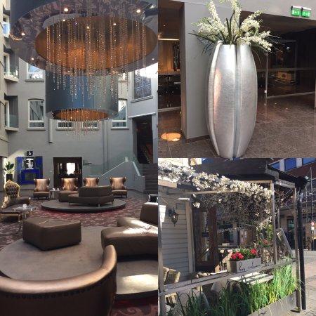 Clarion Hotel Ernst: Reception area/neighbourhood