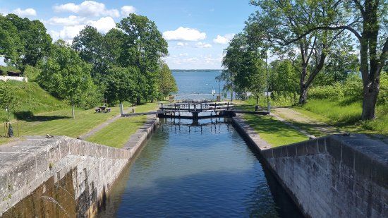 Motala, Zweden: A sunny day in Borenshult