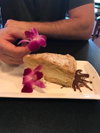 Mineral, VA: Itallian Lemon Cake with edible Orchad