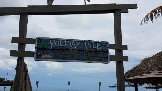 Tiki Bar At Holiday Isle: 20170810_165122_large.jpg