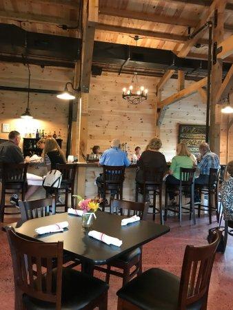 Mineral, VA: Interior Bar Area