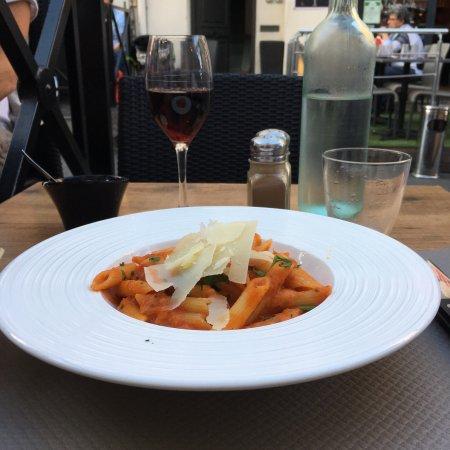 Italien et tres bonnes pates