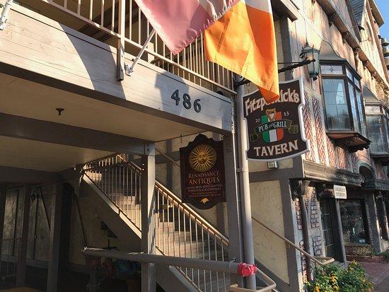 Fitzpatricks Tavern: Outside sign.