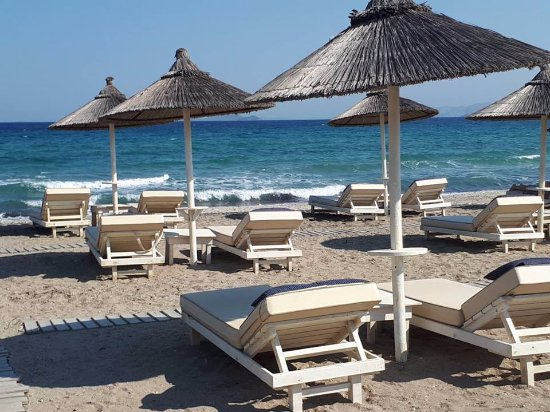 Diamond Deluxe Hotel & SPA - Adults Only: private beach