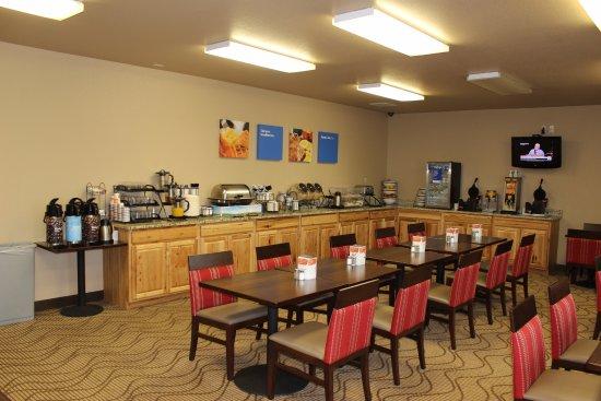Ocean Shores, Ουάσιγκτον: Breakfast room