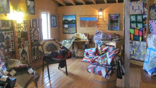 Woody Point, Kanada: Quilts