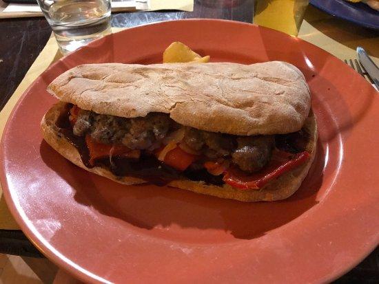 Pianiga, Italia: Panino marmitta