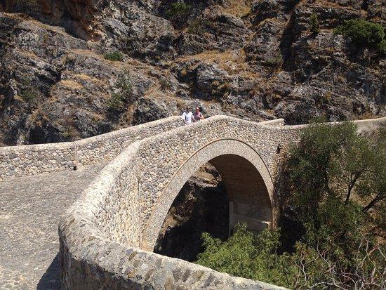 Civita, Italy: ponte