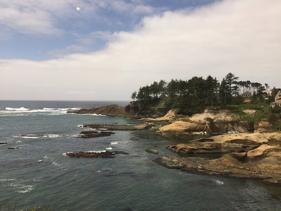 Depoe Bay, OR: View from Tidal Raves.