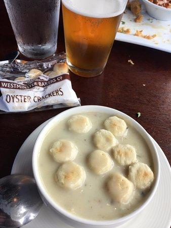 Depoe Bay, Oregón: Chowder!