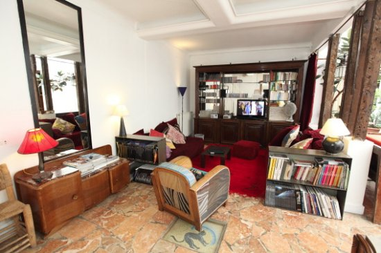 Loft Paris: espace salon du Duplex
