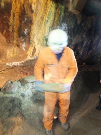 Alderley Edge, UK: in the mine