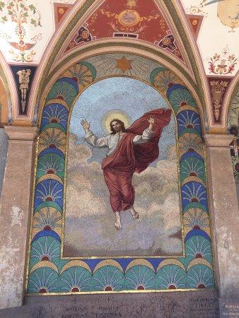 Národní Kulturní Památka Vyšehrad: Piękne mozaiki