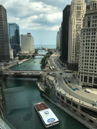 Trump International Hotel & Tower Chicago: The view from our room