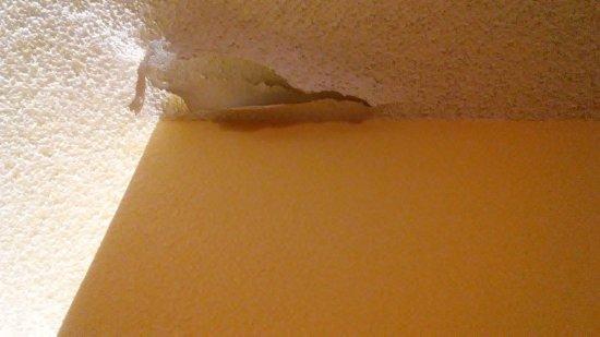 Matthews, North Carolina: The ceiling Room 119