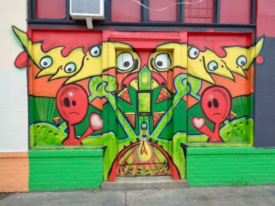 Carytown: wall art