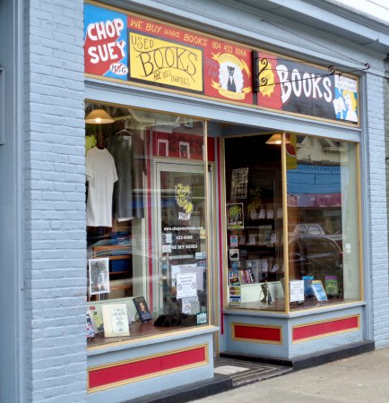 Carytown: one of the funky shops