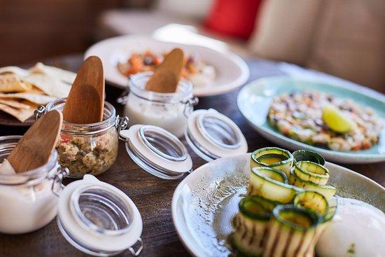 Gustavia, San Bartolomé: Sharing dishes