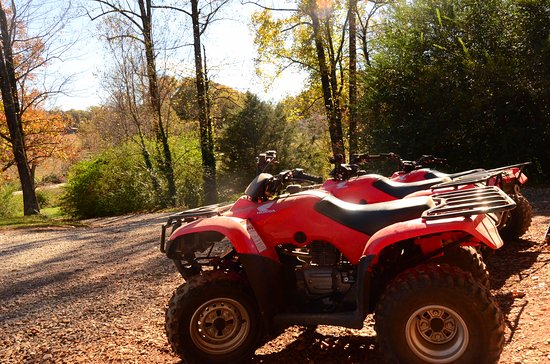 Clarkesville, GA: atv tours into the mountains