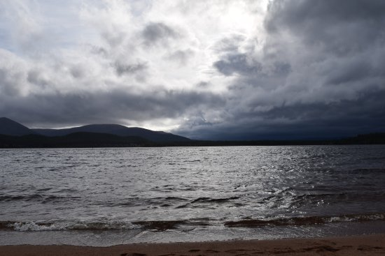 Aviemore, UK: Loch Morlich Aug 2017