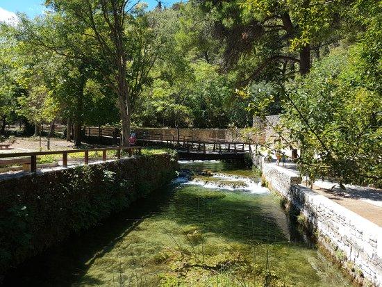 Skradin, Croatia: Deep in the park