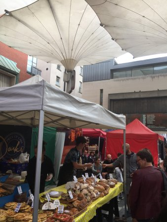 Temple Bar Food Market: Just a glance of one of the many options the market has to offer