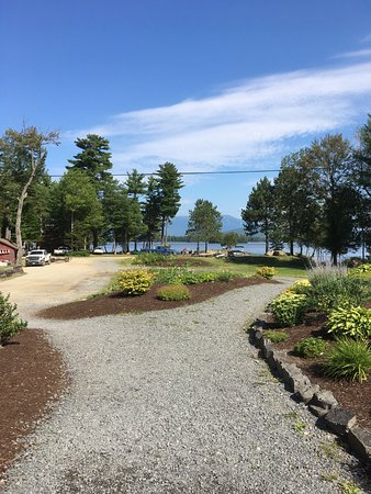 Millinocket, ME: from restaurant to lakefront
