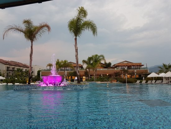Superb hotel ...