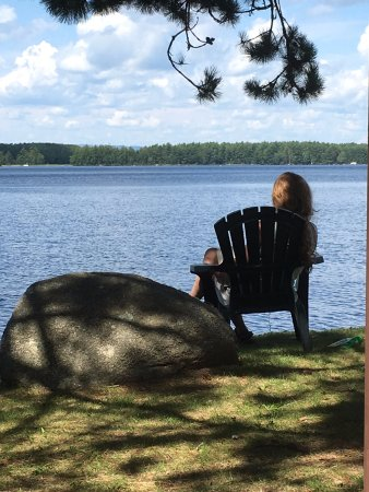 Millinocket, ME: from the common picnic area