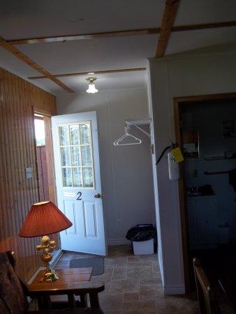 Snorri Cabins: Hall d'entrée