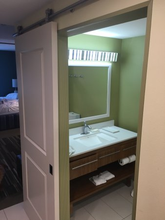 Home2 Suites by Hilton Lexington University / Medical Center Door hangs on rollers. Its & Door hangs on rollers. Its heavy and needs lots of oil or you\u0027re ...