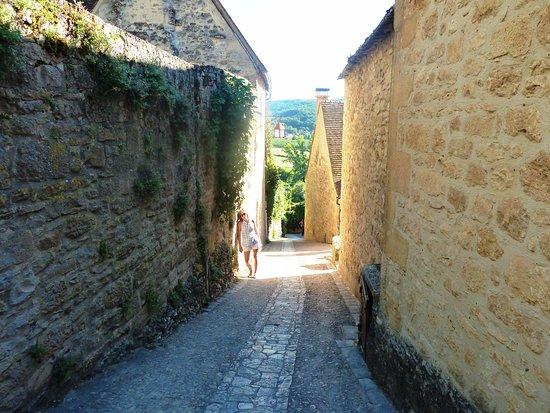 Beynac-et-Cazenac, France: Ascenso al Chateau de Beynac