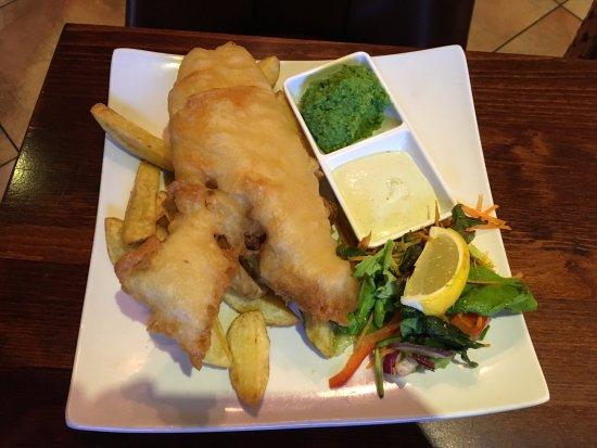 Glenties, Irland: Fish and Chips