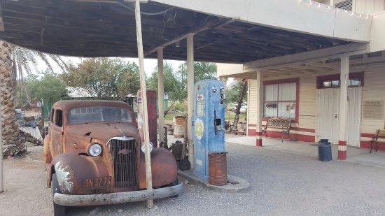 Shoshone, Californien: l'ancienne station