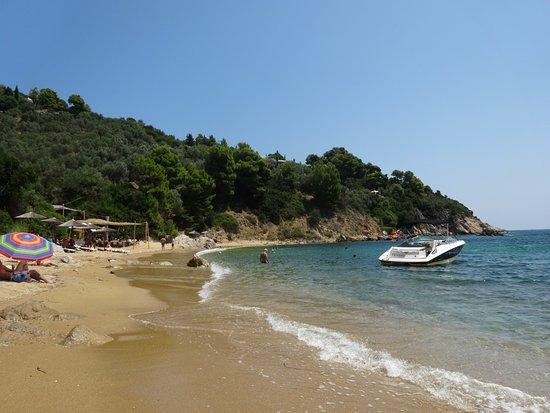 Skiathos Town, Greece: Kalamaki beach