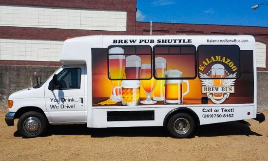 Kalamazoo, MI: The Brew Bus