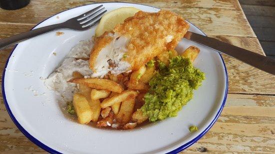 Amble, UK: Amazing Food.