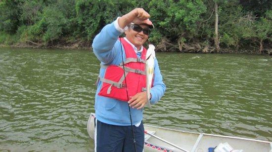 Cannon Falls, Μινεσότα: Fishing on the Cannon River