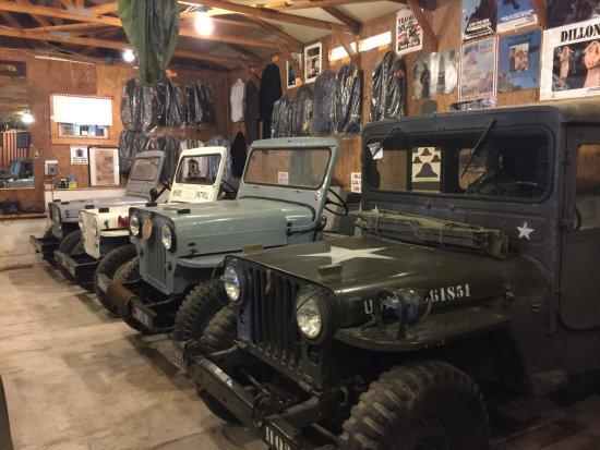 Petersburg, Batı Virjinya: Jeeps