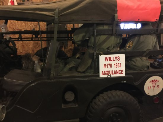 Top Kick's Military Museum: Willys M170 1963 ambulance