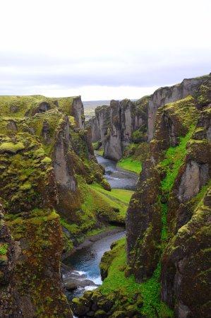 Kirkjubaejarklaustur, İzlanda: look towards the front