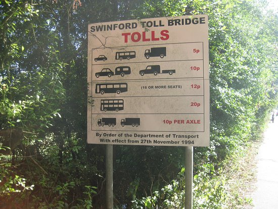 Eynsham, UK: Tolls
