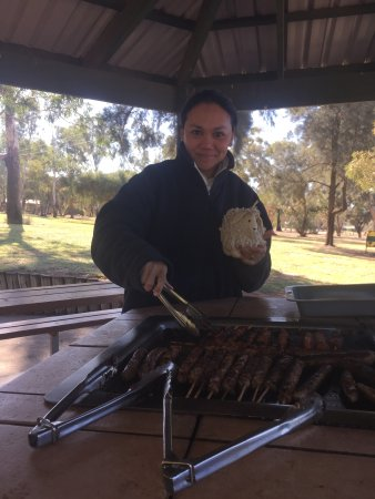Griffith, Australië: BBQ facilities are excellent