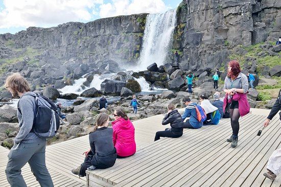 Thingvellir, Island: Thanks selfish tourists who climb the rocks and get in the way of its natural beauty.