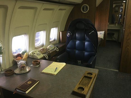 Simi Valley, Califórnia: Reagan's Desk on Air Force One